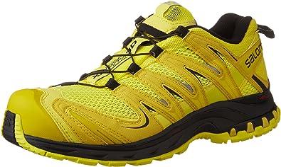 Salomon L39071600, Zapatillas de Trail Running para Hombre, Amarillo (Corona Yellow/Alpha Yellow/Black), 49 1/3 EU: Amazon.es: Zapatos y complementos