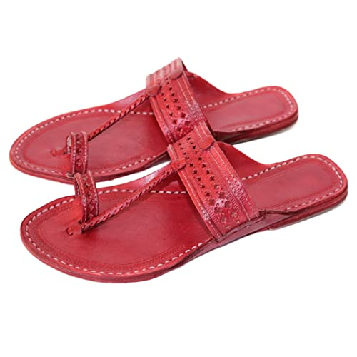 14352a4a0dc57 Amazon.com  Handmade kolhapuri leather sandals