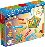 Geomag 352 Confetti Magnetic Construction Set, 50-Pieces