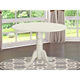 "DLT-WHI-TP Round Table with 29"" Drop Leaves"