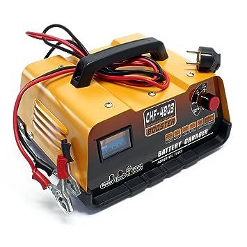 Cargador Batería Vehiculos 12V/ 24V Cargador Bateria Coche ...