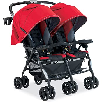 Amazon Com Combi Twin Cosmo Stroller Red Discontinued