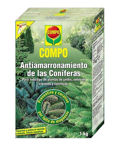 Compo 1288112011 Antiamarronamiento Coníferas 1 Kg, 22x14.2x4.7 cm