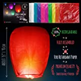 SKY HIGH 20 Pack Colorful Chinese Lanterns