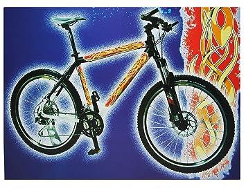 Fahrrad Tattoos Aufkleber