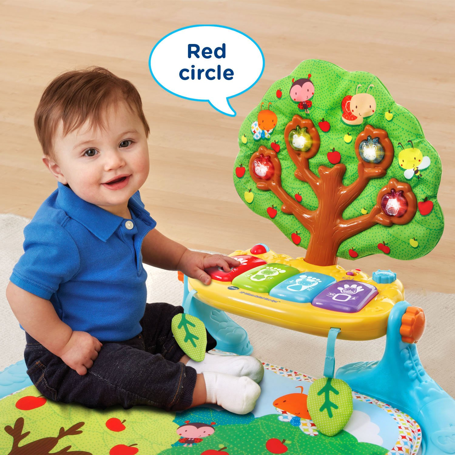Amazon VTech Baby Lil Critters Musical Glow Gym Toys & Games
