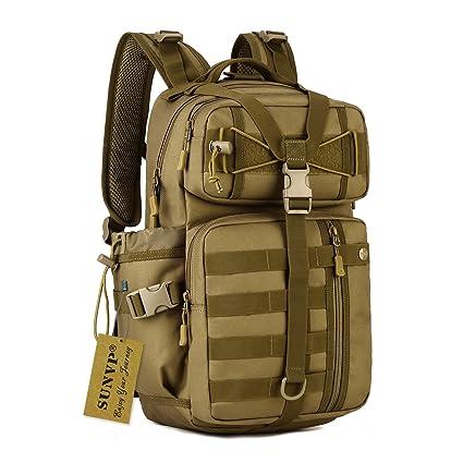 Amazon.com: sunvp 30L Mochila Militar Táctico Molle Mochila ...