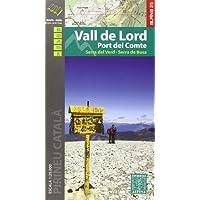 Vall de Lord - Port del Comte. Serra del Verd. Serra de Busa. Escala 1:25.000. Editorial Alpina.