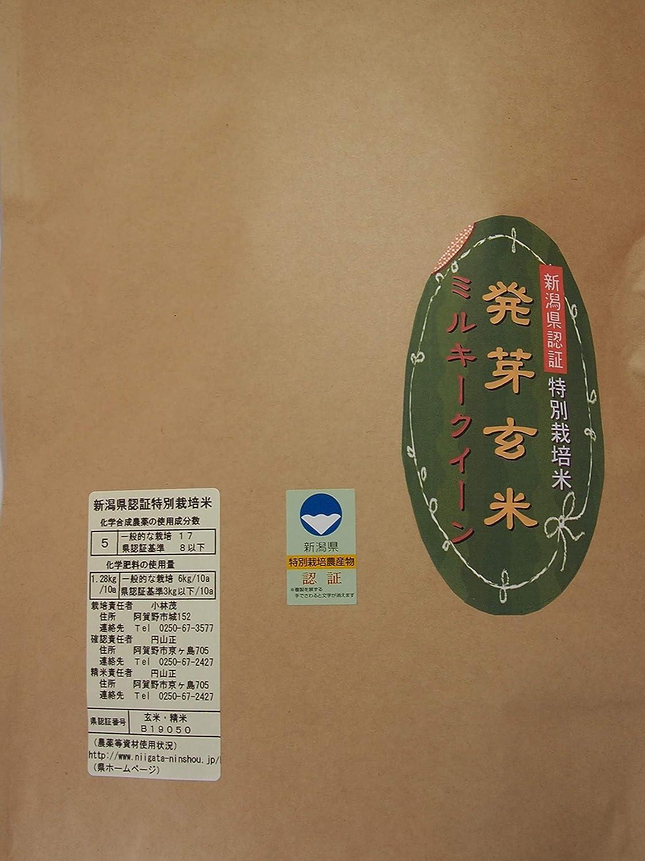 発芽玄米 ミルキークイーン特別栽培米(減農薬・減化学肥料栽培米)