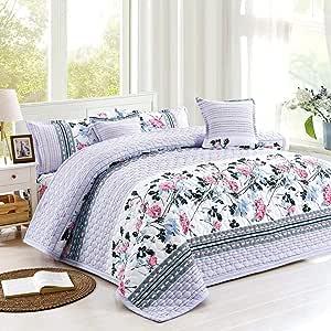 Moon King Plus Size, Microfibre,Multi Pattern, Multi Color - Bedding Sets