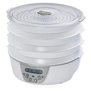 Presto 06301 Dehydro Digital Electric Food Dehydrator (Certified Refurbished)
