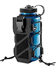 OneTigris HUNTERZ Water Bottle Holster, Adjustable 10 to 32oz Hydration Flasks Holder Carrier for Hydro Flask & Nalgene & Contigo Bottle