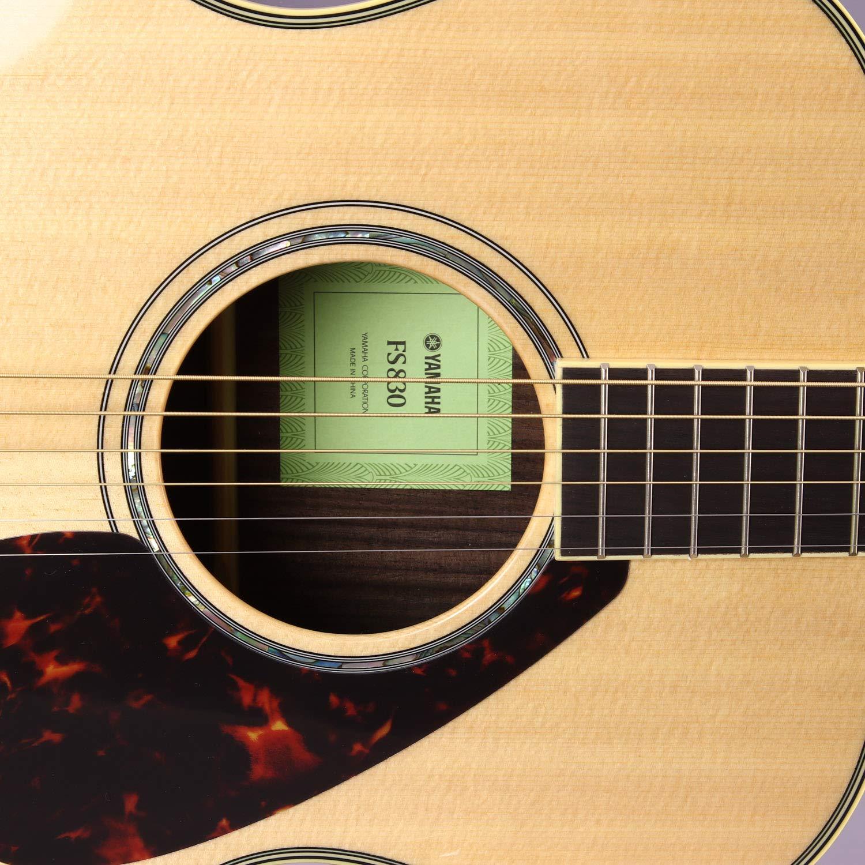 Yamaha fs830 pequeño cuerpo guitarra, parte superior sólida, palisandro trasera y los laterales con Legado accesorio Bundle, muchas opciones: Amazon.es: ...
