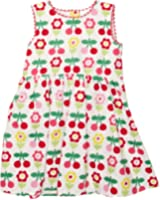 Toby Tiger Cherry Flower Party  Baby Girl's Dress