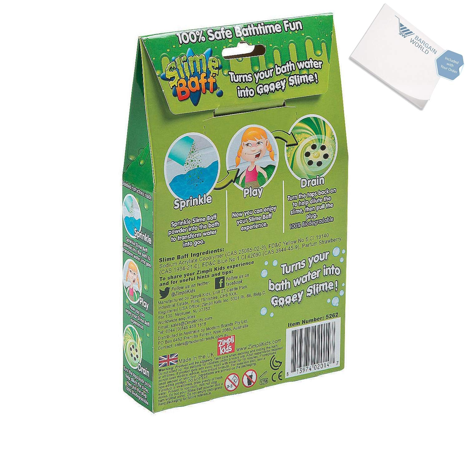 Bargain World Slime Baff (With Sticky Notes) by Bargain World (Image #2)