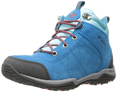 Columbia Womens Fire Venture WaterproofW Mid Hiking Boots       Oxide Blue  Spicy