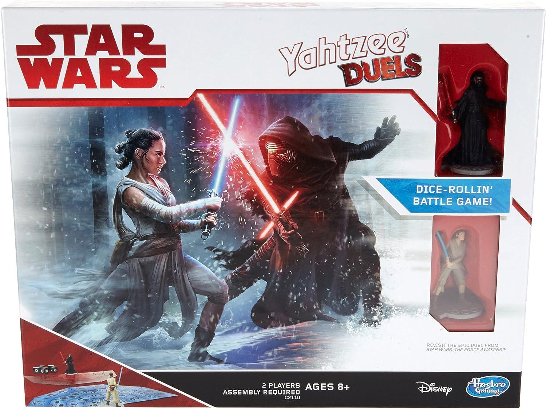 Hasbro Star Wars Rey vs. Kylo REN Yahtzee Duels Juego De Mesa: Amazon.es: Juguetes y juegos