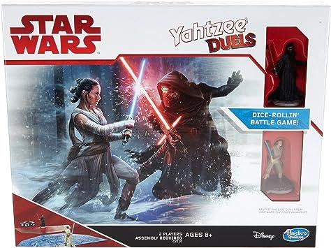 Hasbro Star Wars Rey vs. Kylo REN Yahtzee Duels Juego De Mesa ...