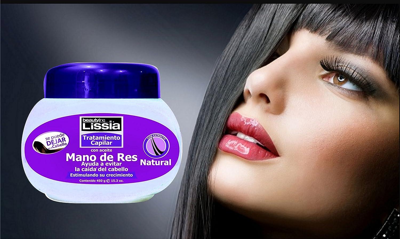 Amazon.com : Lissia Mano De Res Tratamiento / Bubulum Oil Treatment. Ayuda a evitar la resequedad del cuero cabelludo sin dejar el cabello con sensación ...