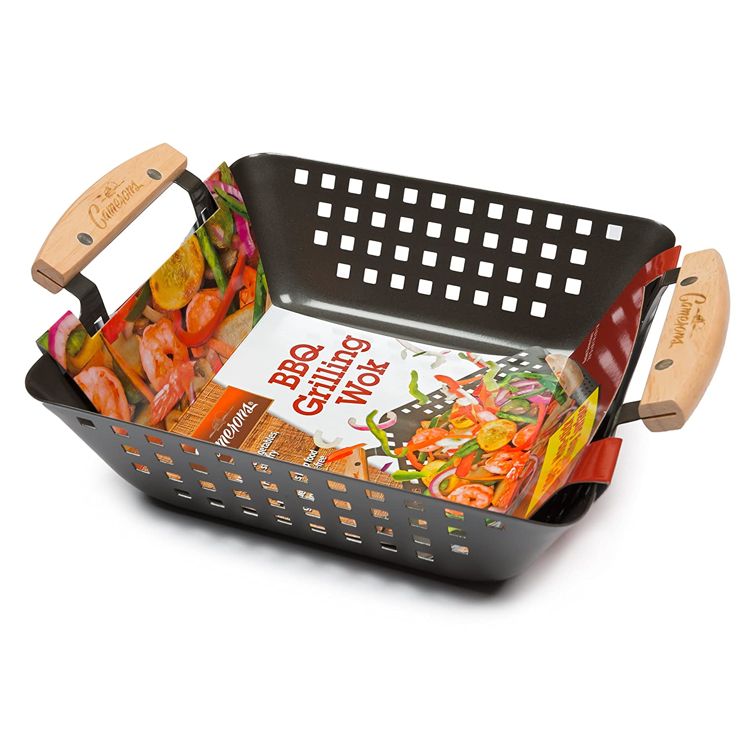 Grill Basket For Meat, Vegetables & Seafood