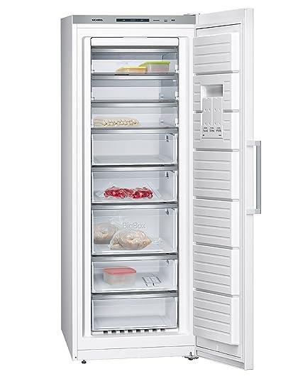 Siemens GS58NFW40 - Congelador (Vertical, Independiente ...