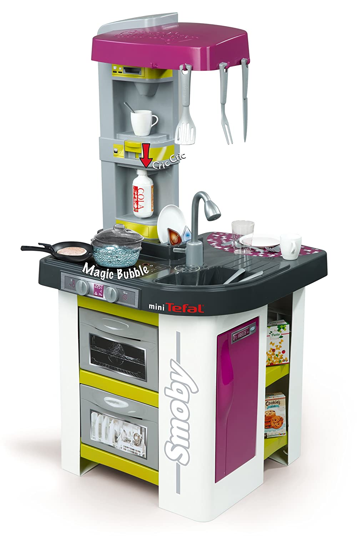 Kinderküchen Vergleich - Smoby Tefal Studio Bubble Küche