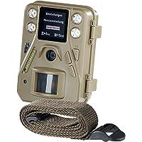 VisorTech Fotofalle: HD-Mini-Wildkamera mit Farbdisplay & Infrarot-Nachtsicht, 12 MP, IP66 (Nachtkamera)