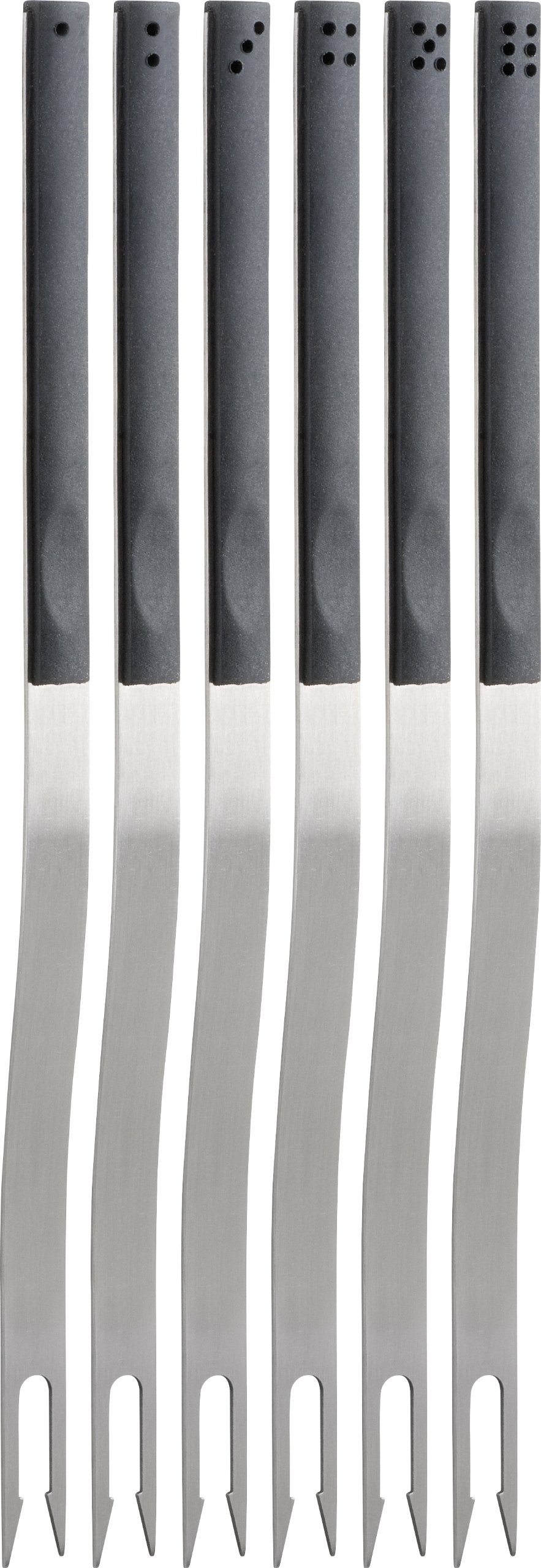 Trudeau Domino Fondue Forks, Set of 6
