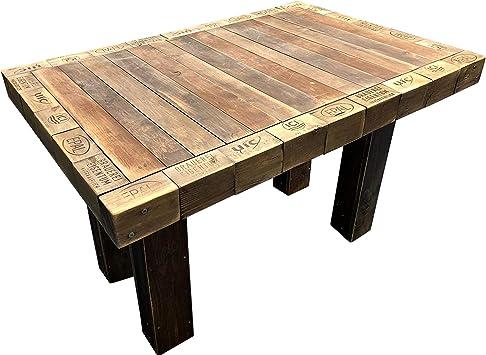 Palettenmöbel: Tisch aus Paletten, Paletten Esstisch ...