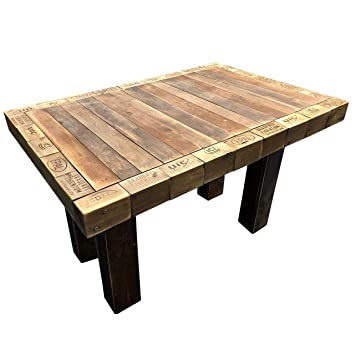 Mobilier de Palette : Table en palettes, Table de Salle à ...
