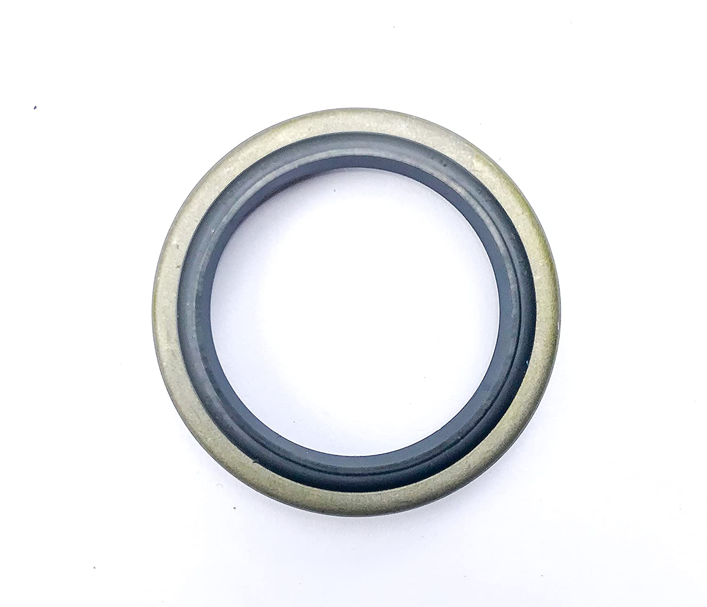 2 PCS DKB35X47X7//10 Wiper Seal 35X47X7 // 10 Oil Seal DKB  EAI Dust Seal w//Ground Outer Metal Housing 35mmX47mmX7//10mm