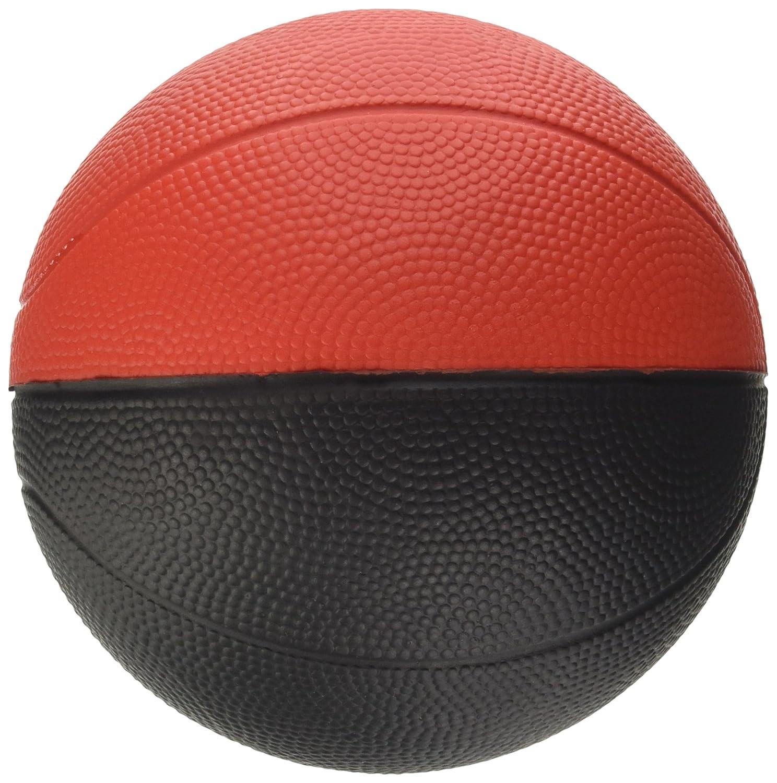 Pure2Improve Fun Ballon de Basketball Mixte Adulte Noir//Rouge