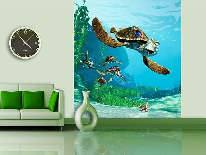 Amazoncom WallandMore Huge Disney Finding Nemo Wall Decal Mural