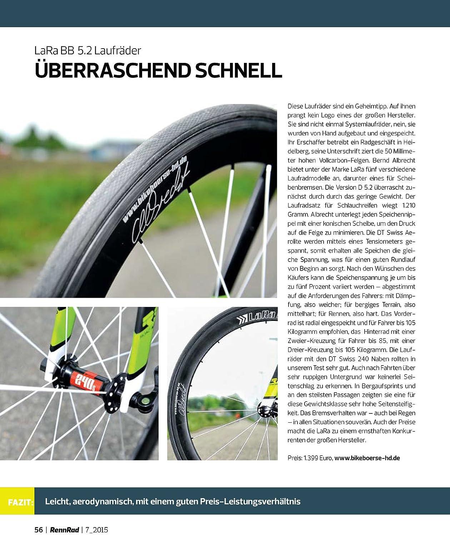 Juego de ruedas Lara BB Albrecht Carbon 5.1 con DT Swiss 240S: Amazon.es: Deportes y aire libre