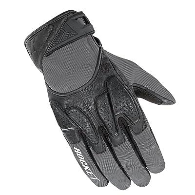 Joe Rocket Men's Atomic X2 Hybrid Motorcycle Glove (Grey/Black, Small): Automotive
