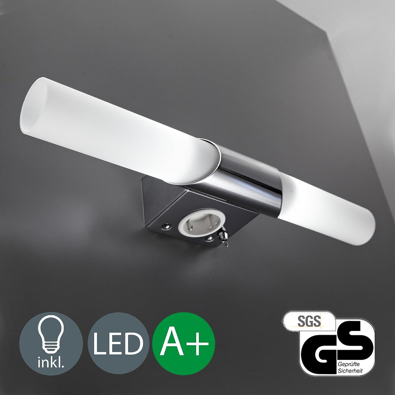 Luminaire salle de bain avec detecteur - Luminaire salle de bain avec prise de courant ...