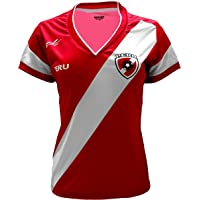 7daaac895 Arza Sports Peru Women Soccer Jersey Color Red 100% Polyester