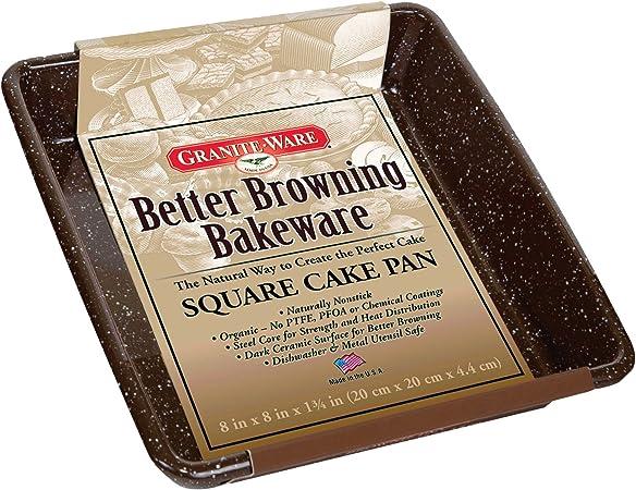 Granite Ware 0621-4 9-Inch Better Browning Round Pie Pan