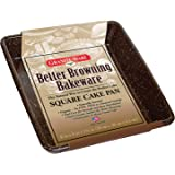 Granite Ware F0624 Better Browning Square Cake Pan, 8-inch by 8-inch