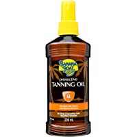 Banana Boat Protective Tanning Oil Spray SPF 8 Sunscreen, 8 oz
