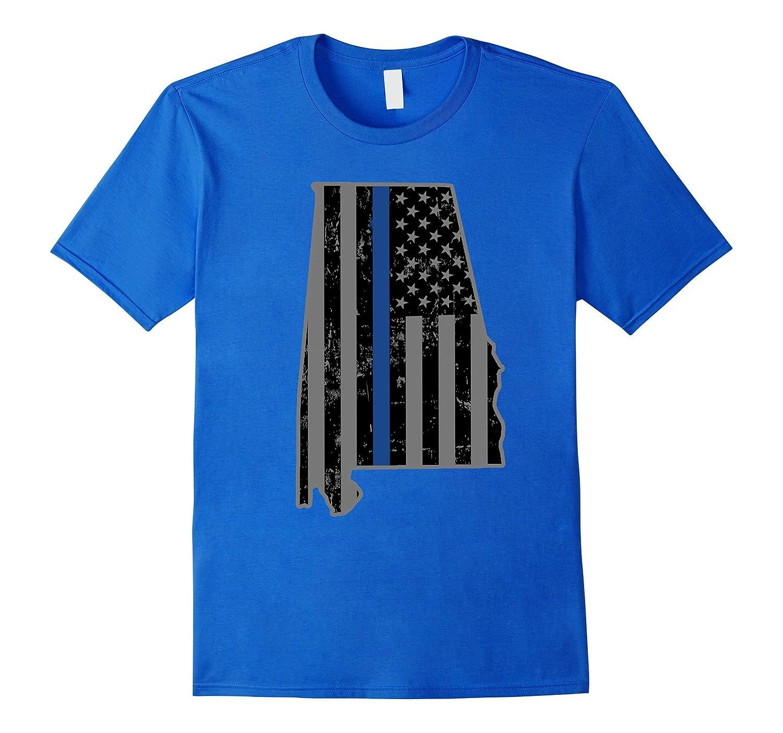 Alabama State Police Alabama State Trooper Thin Blue Line-CL