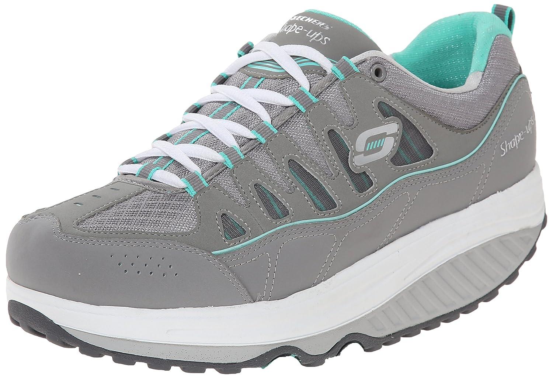 Skechers Women's Shape Ups 2.0 Comfort Stride Fashion Sneaker B00SDD1JQU 9.5 B(M) US Gray/Mint