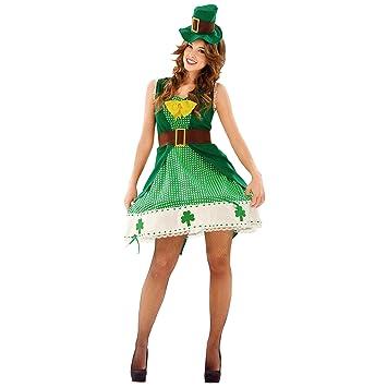 My Other Me Me-201099 Irlanda Disfraz de irlandesa para mujer, ML (Viving Costumes 201099