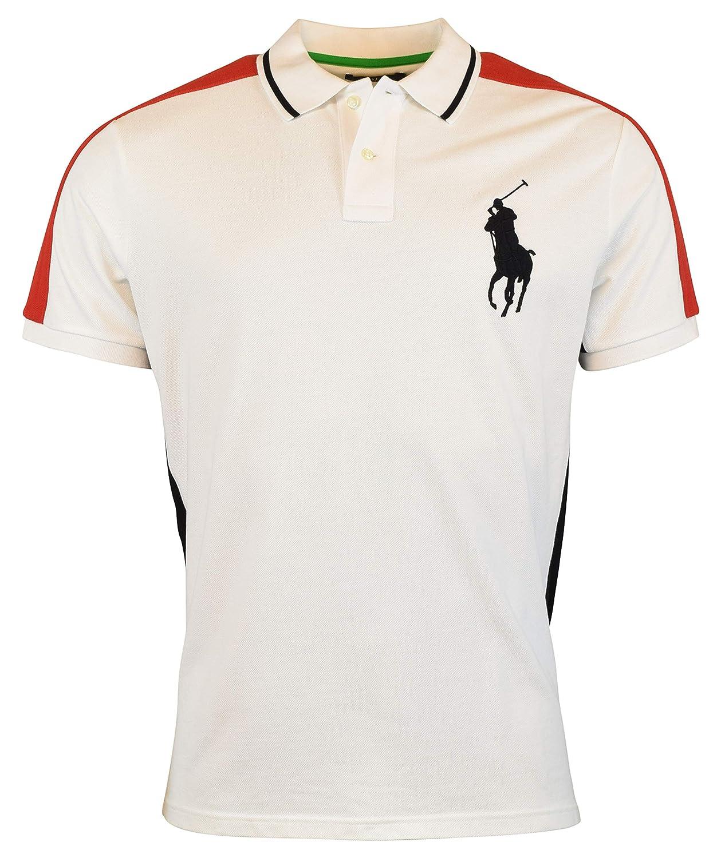 Ralph Lauren Polo Mens Custom Slim Fit Big Pony Mesh Polo Shirt X