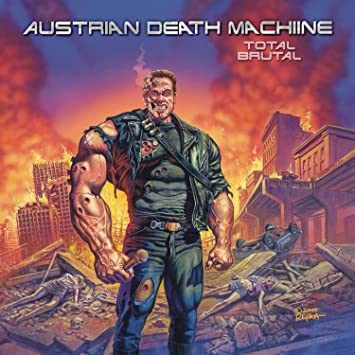 amazon total brutal austrian death machine ヘヴィーメタル 音楽