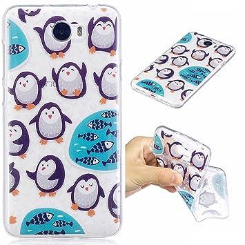 coque huawei y5 ii pingouin