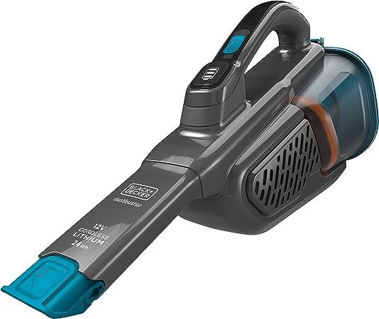 Black & Decker Aspiradora, Azul/Titanio, 12V (24 WH): Amazon.es: Hogar