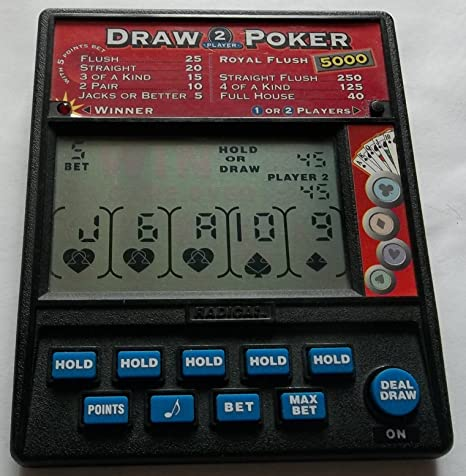 Amazon Com Draw Poker 2 Player Toys Games