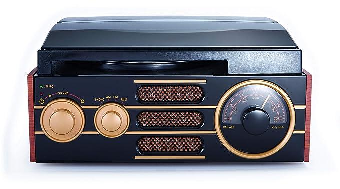 Bigben Interactive TD101 - Tocadiscos: Amazon.es: Electrónica