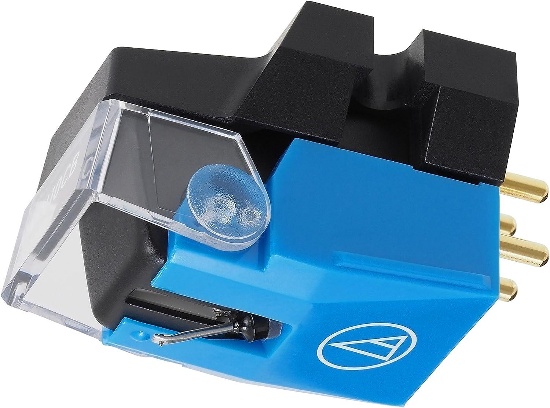 Audio-Technica VM610MONO Dual Moving Magnet Stereo Turntable Cartridge for Mono LP Blue